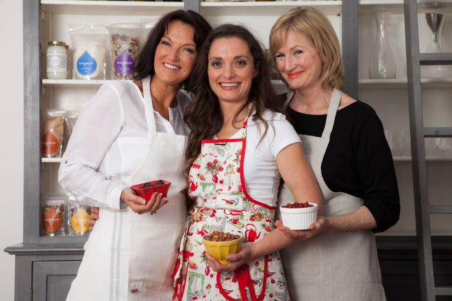 The wonderful ladies themselves - Therese Kerr, Chef Kate & Dr Jennifer Barham-Floreani